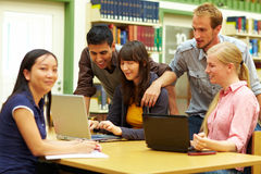 Learning at university Stock Images