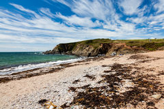 Leas Foot Sands Beach Thurlestone Devon England Royalty Free Stock Images
