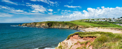 Leas Foot Sands Beach Thurlestone Devon England Royalty Free Stock Photography