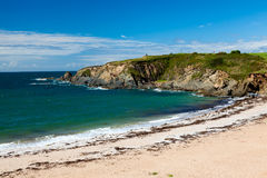 Leas Foot Sands Beach Thurlestone Devon England Royalty Free Stock Image