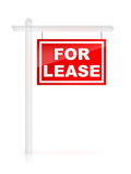 For Lease. Real Estate Tablet - For Lease Stock Image