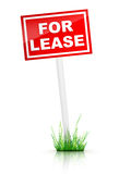 For Lease. Real Estate Tablet - For Lease Stock Photography