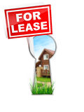 For Lease. Real Estate Tablet - For Lease Stock Photos
