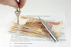 Free Lease Agreement Office Royalty Free Stock Image - 36475036