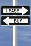 Lease or Buy Stock Image