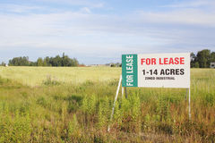 Leased Industrial Land Stock Photos