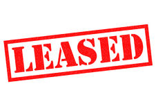 LEASED Royalty Free Stock Images