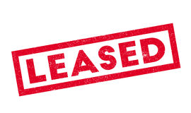 Leased rubber stamp Stock Photography