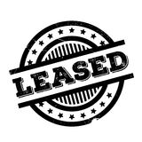 Leased rubber stamp Royalty Free Stock Images
