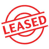 Leased rubber stamp Stock Image