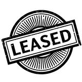 Leased rubber stamp Royalty Free Stock Photos