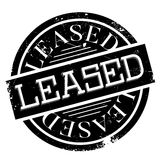 Leased rubber stamp Stock Images