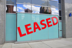 Leased Sign Royalty Free Stock Photography