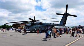 2019 Leaseweb Manassas Airshow, Manassas, Virginia. Military Helicopter, 2019 Leaseweb Manassas Airshow, Manassas, Virginia, USA, May 4 royalty free stock photos