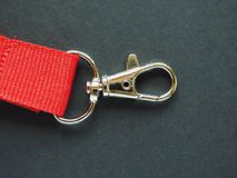 Leash with snap hook Royalty Free Stock Images