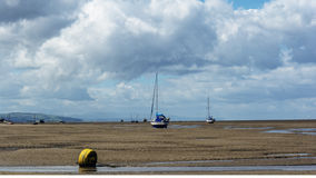 Leasowe beach wirral uk Stock Image