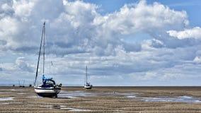 Leasowe beach wirral uk Stock Photography