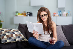 Leasure and home concept Stock Image
