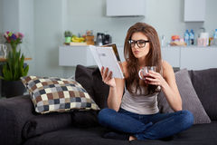 Leasure and home concept Stock Photos