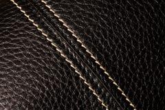 μαύρο leathe Στοκ εικόνα με δικαίωμα ελεύθερης χρήσης