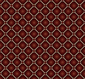 Leather. Vector seamless repeating leather upholstery background Stock Images