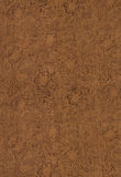Leather. Old floral leather background pattern Stock Photography