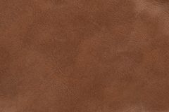 Leather. Brown leather texture. High-resolution scan Royalty Free Stock Image