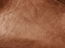 Leather. Brown leather texture.Cover background Royalty Free Stock Images