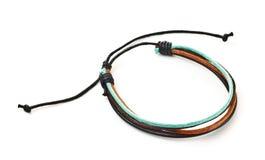 Leather arm bracelet Royalty Free Stock Image