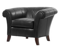 Leather arm chair Royalty Free Stock Image