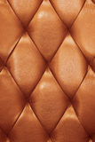 Leather armchair. Leather pattern of a armchair royalty free stock photography