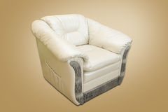 Leather armchair Royalty Free Stock Image