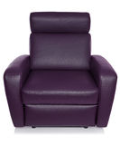 Leather armchair Royalty Free Stock Photo