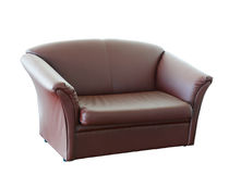 Leather armchair Royalty Free Stock Photos