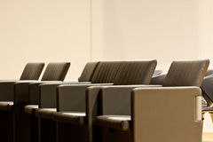 Leather armchairs Royalty Free Stock Image