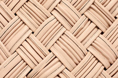 Leather background. Woven leather background in the flesh-coloured colour Royalty Free Stock Photos
