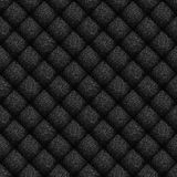 Leather Background. Seamless pattern of black leather texture for background Stock Image