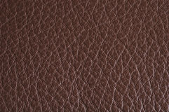Leather background. Natural brown leather background / texture Stock Photo