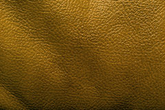 Leather background. Close up of brown leather Stock Photography