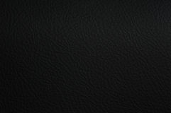 Leather background. Abstract texture black Royalty Free Stock Photos