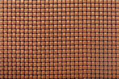 Leather background with interlaced design Stock Images