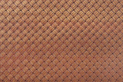 Leather background with interlaced design Stock Image