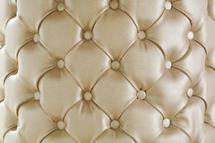 Leather background. Sepia picture of genuine leather upholstery Stock Images