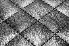 Leather background with stitching Royalty Free Stock Photography
