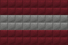 Leather background or texture with blending  Austria flag Royalty Free Stock Photo