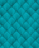 Leather background. In turquoise.Stylish upholstery Royalty Free Stock Photos