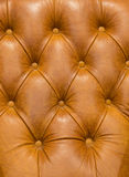 Leather Background. Of vintage armchiar Stock Photography