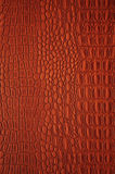 Leather backgrounds, classic picture. Brown texture, rounded forms the bulk of fragments, two drawings on the same plane without seam, High resolution, close-up Royalty Free Stock Photo