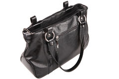 Leather bag Stock Photos