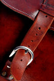 Leather bag royalty free stock images
